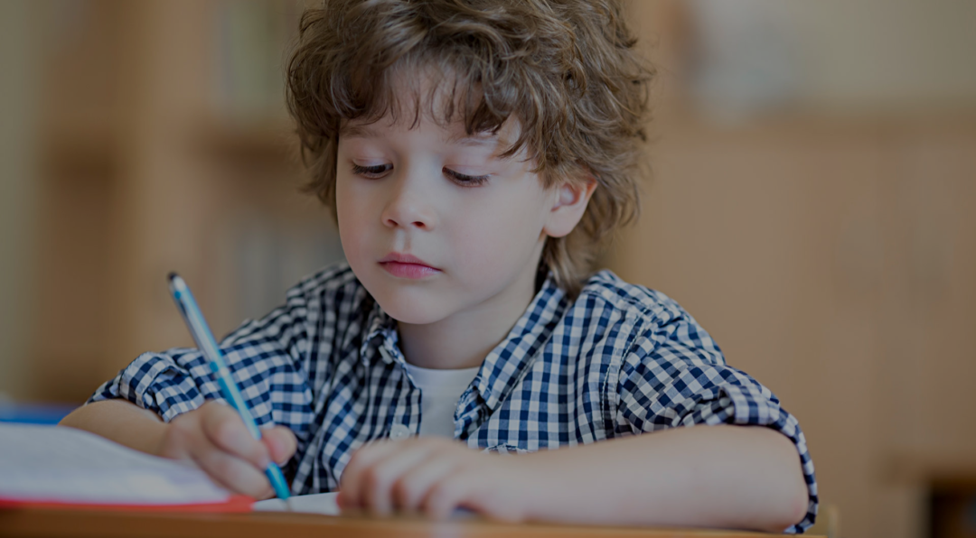 Картинка дистанційна освіта хлопчик